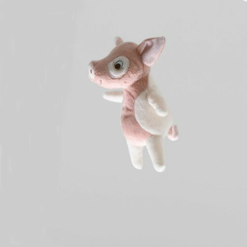 IKEA KELGRIS Stofftier Schwein Rosa//Weiß 18 cm