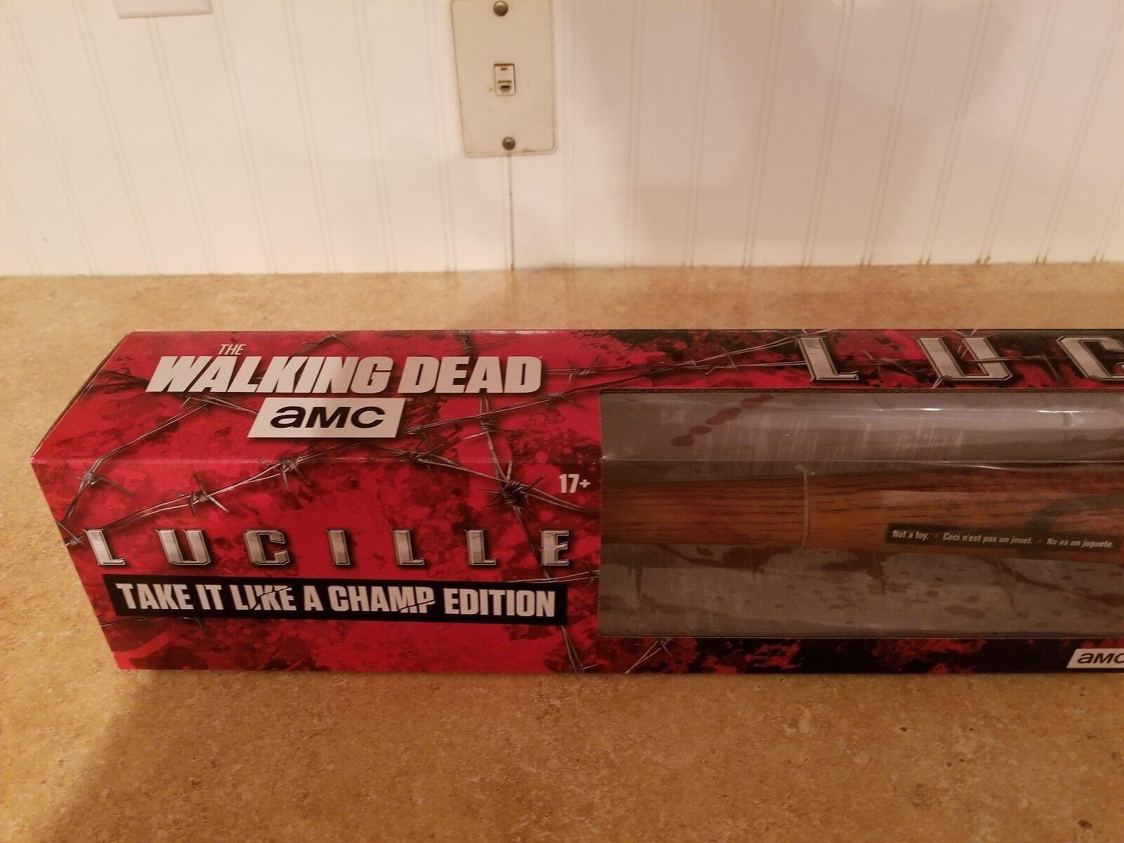 Mcfarlane The Walking Dead Negan Take it like a Champ Lucille Bloody Bat