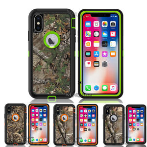 For-iPhone-X-Case-Clip-Fits-Otterbox-Defender-Holster-iPhonex-Camo