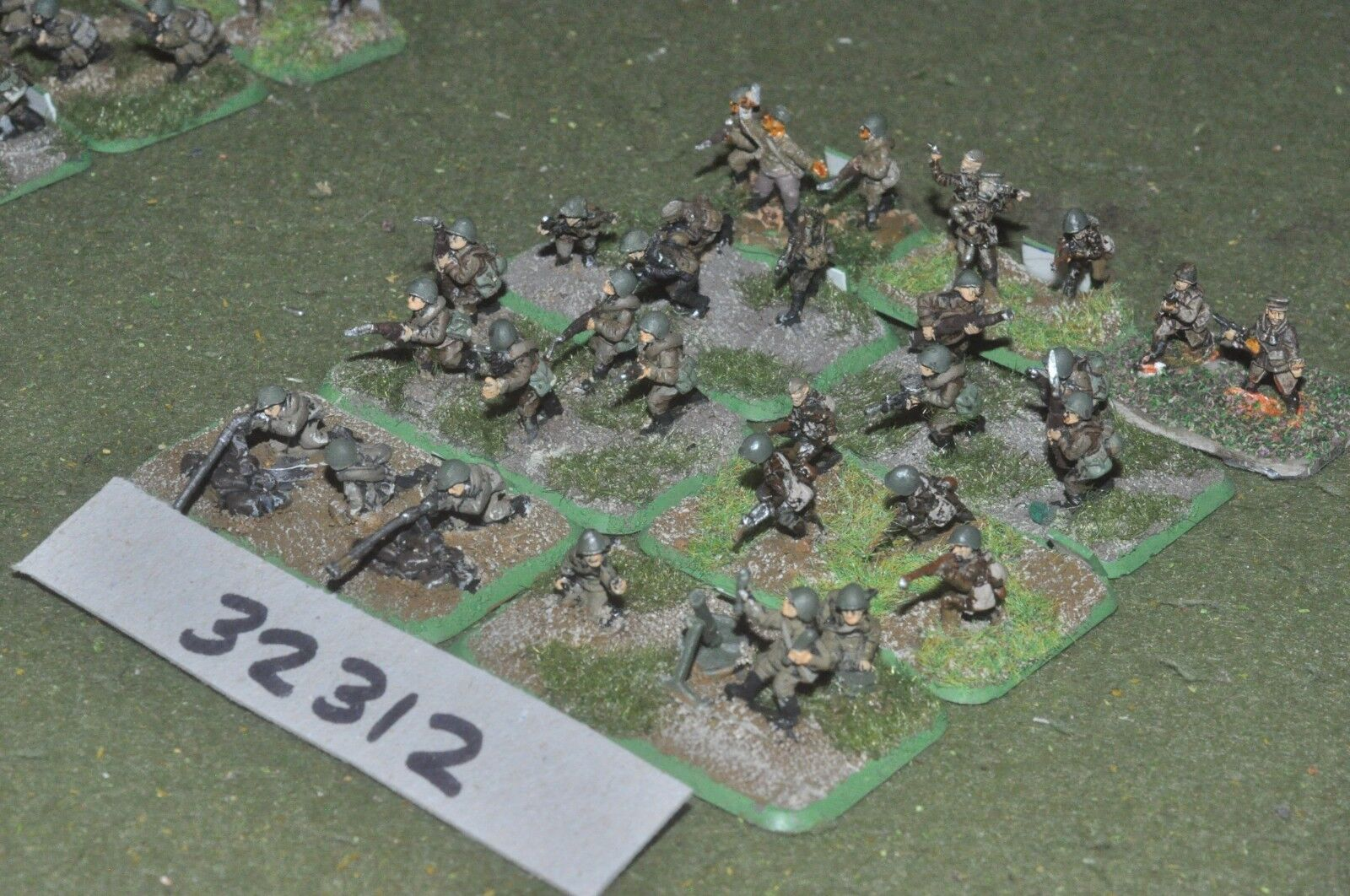 15mm WW2   russian - section 30 figures - inf (32312)