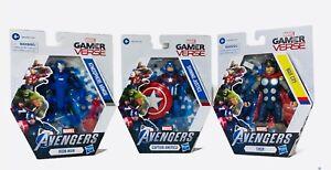 Marvel GAMERVERSE Avengers Lot of 3 Iron Man Captain America Thor🔥🔥