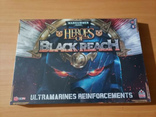 Details about  /Warhammer 40k Heroes of Black Reach Ultramarines Reinforcements Set SEALED!