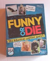Hasbro Funny Or Die Game - Ages 13+ - Hilarious Picture Caption Game