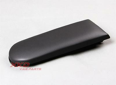 New Black Leather Center Console Armrest Cover Lid For VW Golf  Jetta MK4 Beetle