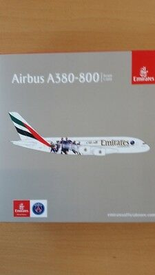 Herpa Wings 1:500 Airbus A380 Emirates Paris St.Germain 529440
