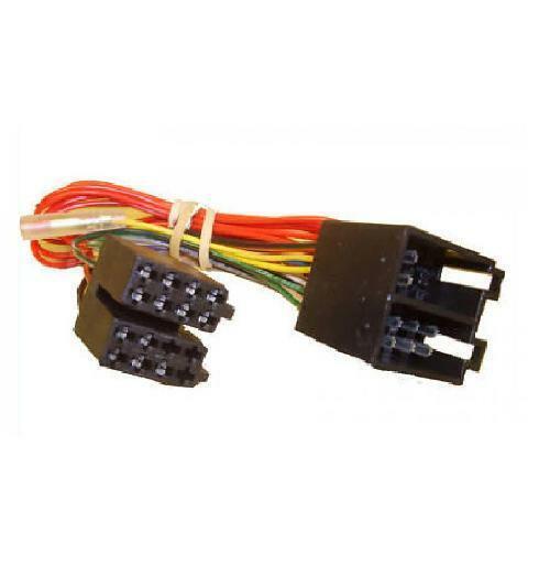 Cd Radio Stereo Iso Wiring Loom Harness Lead Plug Pc2