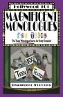 Magnificent Monologues for Teens by Chambers Stevens (Paperback, 2002)