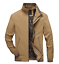 New Men/'s Wash Jackets Youth Slim Coat Casual Cotton Jacket Thin Outwear tops
