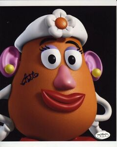 Estelle-Harris-Toy-Story-4-Mrs-Potato-Head-Signed-Autographed-8x10-Photo-JSA-SOA