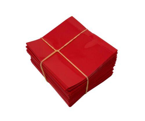 Red 45x52 Heat Shrink Neck Wrap Band Hot Sauce Bottle Tamper Seal 250 Pack