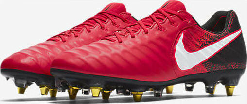 NikeTiempo Legend VII SG-Pro AC Soccer Cleats Red Size 7 917805 616 MSRP  230
