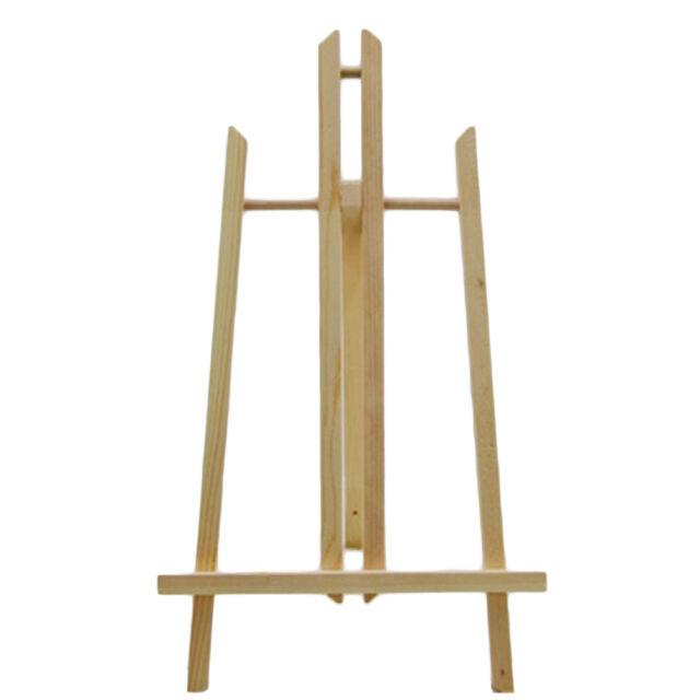 Art Supply Adjustable Easel Beech Tabletop H Frame Studio Artist