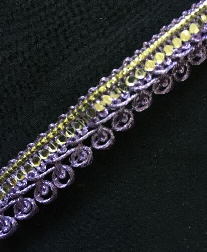 1 mètre 14 couleurs-tissus d/'ameublement//coussin//indien 17mm braid trim//dentelle//gimp