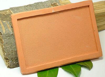 (b009) Silicone Mould for Brick klinkermauerwerk, N Gauge