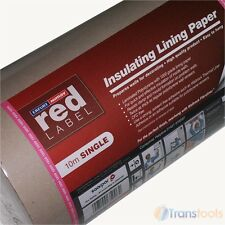 Mav Insulated Polyliner Polytyrene Lining Paper 10m x 50cm Wall Insulation