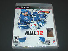 NHL 12 (Sony PlayStation 3, 2011)   ***NEW FACTORY SEALED***