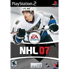 NHL 07 For PlayStation 2 PS2 Hockey 0E
