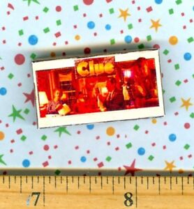 Dollhouse Miniature Size Board Game CLUE Box