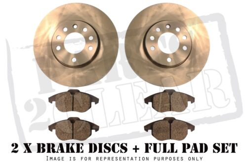 FORD S-MAX 1.6 1.8 2.0 2.2 2.3 TDCI REAR BRAKE PADS /& DISCS 302MM SOLID 2006