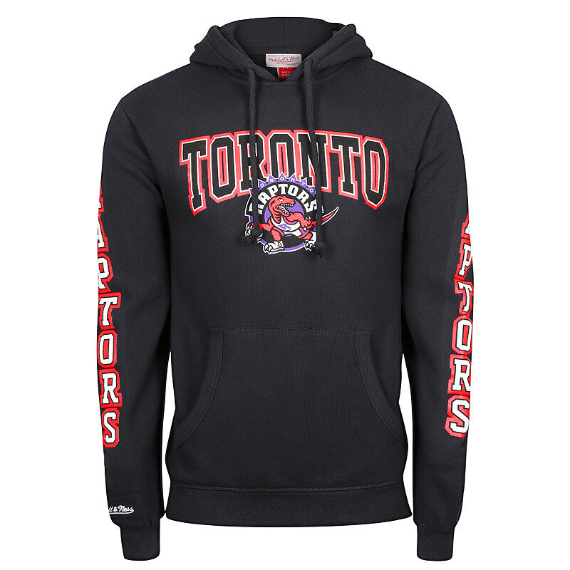 Mitchell & Ness NBA Tgoldnto Raptors Visiting Team Hoodie