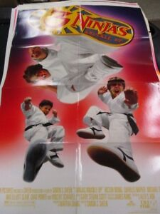 1 Sheet Movie Poster 3 Ninjas Knuckle Up 1995 Victor Wong ...