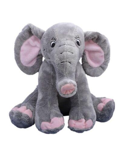 "Personal Recordable Plush 15"" Talking Recordable Teddy Bear ELEPHANT"