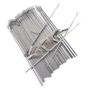 50stk-Nadeln-fuer-4-5mm-Ribber-Brother-Strickmaschinen-KH836-KH930-KH970-Needle