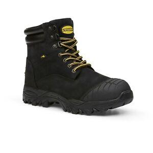 Diadora-FU1948CT-Craze-Zip-Work-Shoes-Laced-Safety-Boots-Black-Eu44-5-US10-5