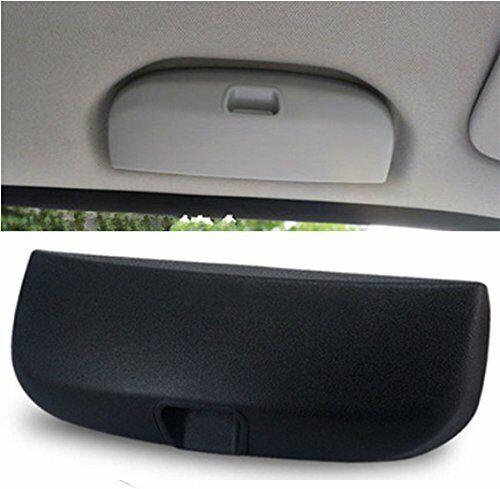 Ictronix nera portaocchiali auto,custodia porta occhiali auto anteriore