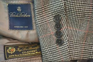 Brooks-Brothers-Brown-Red-Plaid-Loro-Piana-Zelander-Merino-Flannel-Sport-Coat-39
