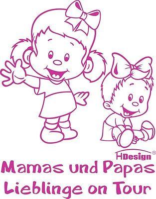 GESCHWISTERAUFKLEBER Babyaufkleber Aufkleber Sicherheitsaufkleber Kind G1-JM