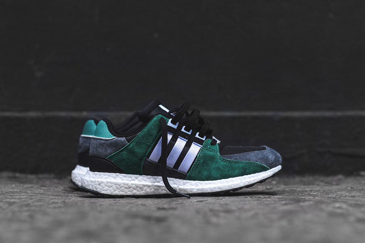 Adidas EQT Support 93/16 Green Black White Grey Size 12.5 S79923 NMD ultra boost