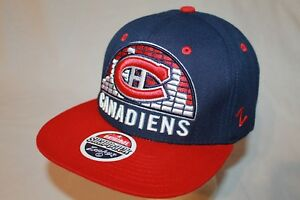 Details about Montreal Canadiens Snapback Hat Cap