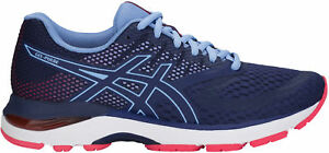 Asics Gel Pulse 10 Womens Running Shoes - Blue Renforcement Des Nerfs Et Des Os