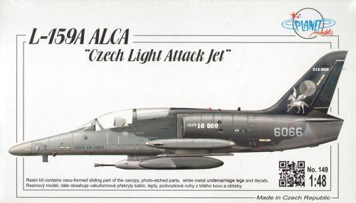 Planet 1 48 L-159a Alca   Tchèque Clair Attaque Jet
