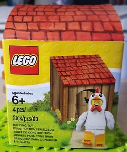 NEW LEGO CHICKEN SUIT GUY Easter Minifigure Set 5004468 series 9 minifig basket