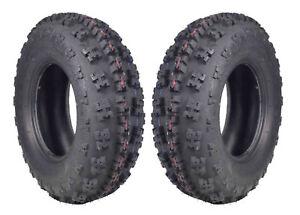 Front Tire Set  (2x) 6ply 21X7-10 GBC XC-Master ATV Tires 21 7 10 21x7x10