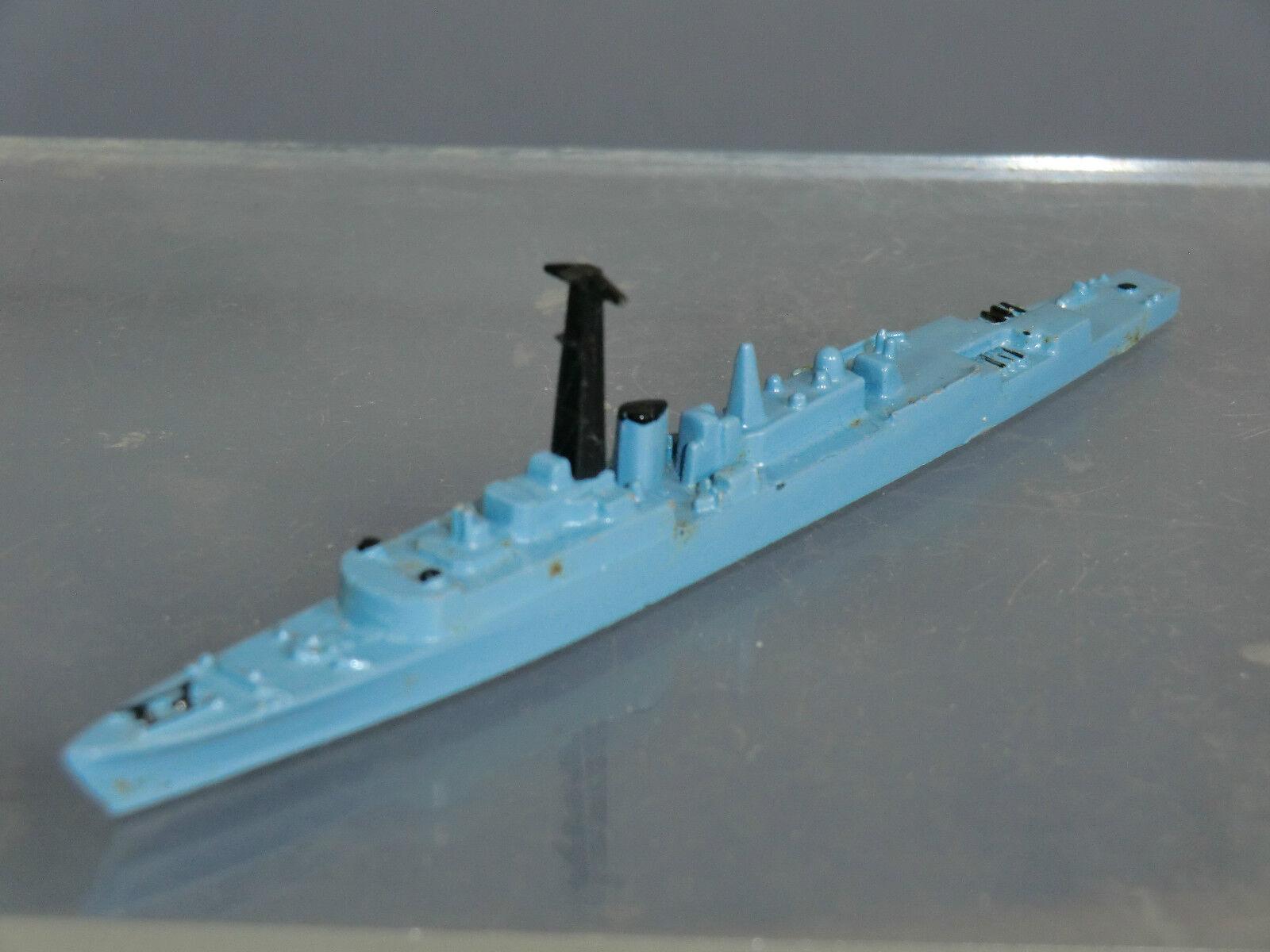 VINTAGE TRI-ANG MINIC MODEL  No.M789  HMS VIRAGO  FAST ANTI-SUBMARINE FRIGATE