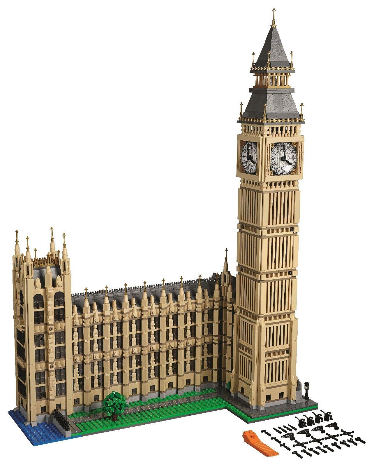 LEGO Big Ben 10253-Nuovo di zecca-GRATIS P&P