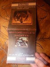 Petit Catalogue des Blousons en Cuir REDSKINS Territoire de Bikers Motard à Moto