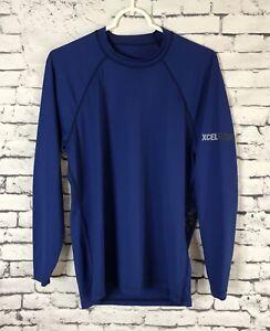 XCEL-Hawaii-Ventyx-Long-Sleeve-Rash-Guard-Ter-BLUE-Men-s-size-Small