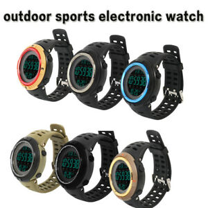 Mens-Waterproof-Sports-Watch-Fitness-Student-Wristwatches-Alarm-Children-Boys-AU