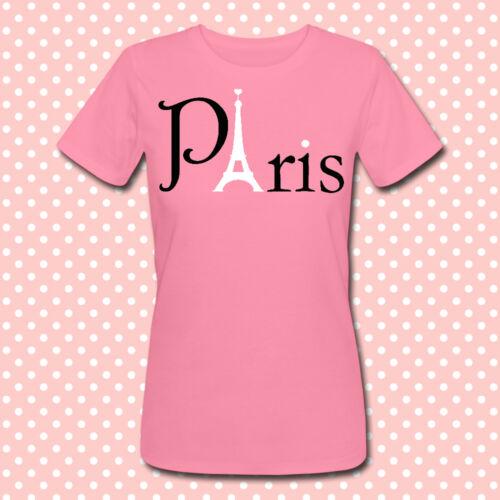 "tour eiffel eiffel tower T-shirt /""Paris/"" torre eiffel parigi scegli colore!"