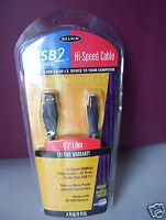 Belkin Usb2 Hi-speed Cable 6'/1.8m Plug/b Plug