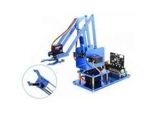 4-DOF-Metal-Robot-Arm-Kit-for-micro-bit-Bluetooth-version