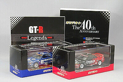 Kyosho 1 43 Nissan Skyline GT-R R32 Gr.A Calsonic Taisan 40th anniversary set