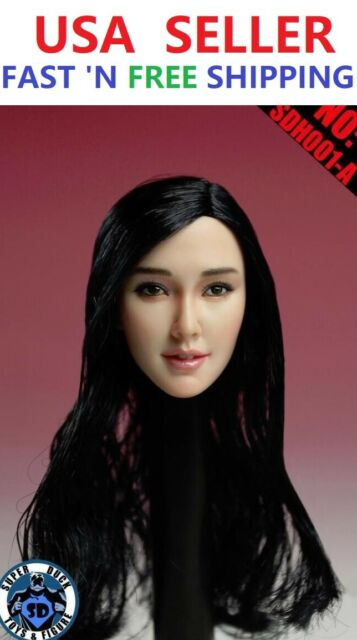 GAC TOYS 1//6 scale female Head Sculpt GC009C for 12/'/' figure Barbie Doll Phicen