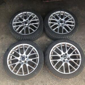 "Genuine OE JCW Mini Cooper S R52 R53 R55 R56 R57 17"" R112 4 Wheels & Good Tyres"