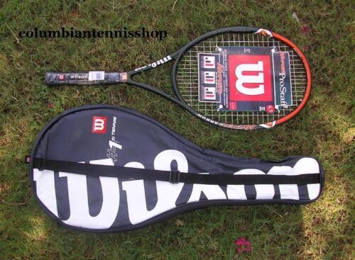 Nouveau Wilson HPS 6.5 Hyper PRO STAFF 6.5 110 Oversize Cordée Raquette de tennis ORG 210.99 $