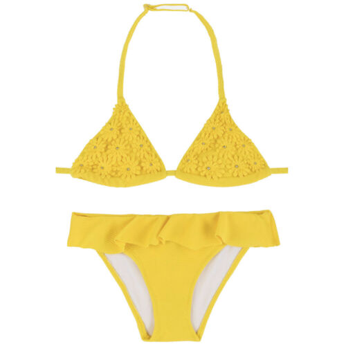 MAYORAL Mädchen Bikini Set 6721 gelb Kinder Bademode NEU